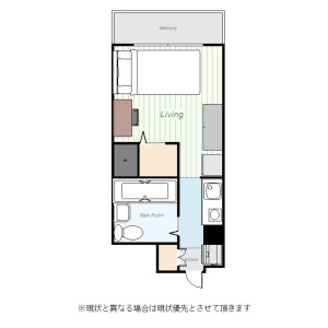 1R Mansion in Omorikita - Ota-ku Floorplan