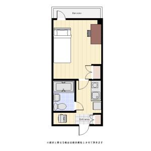 1K Mansion in Midori - Sumida-ku Floorplan