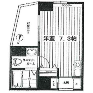 1K Mansion in Maesatocho - Yokohama-shi Minami-ku Floorplan