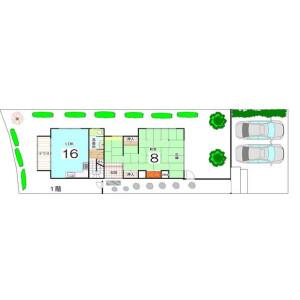 5SLDK {building type} in Sagakankuji kubodencho - Kyoto-shi Ukyo-ku Floorplan