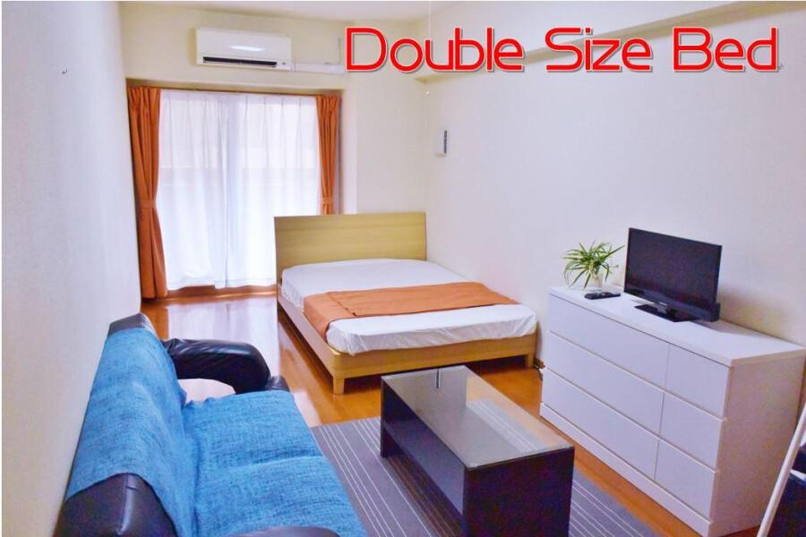 1K Apartment to Rent in Osaka-shi Chuo-ku Bedroom