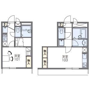 1K Mansion in Nakaikegami - Ota-ku Floorplan