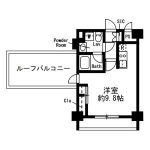 1R Mansion in Minamiazabu - Minato-ku Floorplan