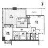 2LDK Apartment to Buy in Osaka-shi Chuo-ku Floorplan