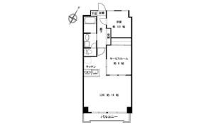 1SLDK Apartment in Mita - Minato-ku