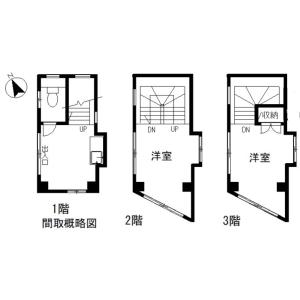 北区滝野川-楼房(整栋){building type} 楼层布局