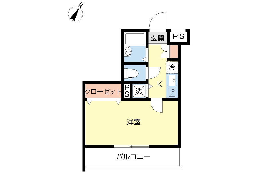 1K Apartment to Rent in Bunkyo-ku Interior