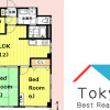 3LDK Apartment to Rent in Nakano-ku Floorplan