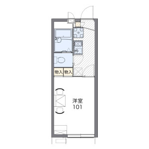 1K Apartment in Sugao - Kawasaki-shi Miyamae-ku Floorplan