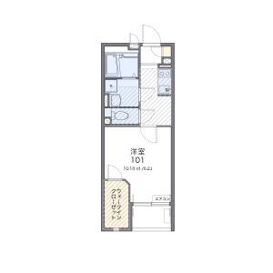 1K Mansion in Kohoku - Adachi-ku Floorplan