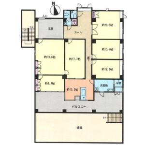 6LDK House in Uenomachi - Hachioji-shi Floorplan