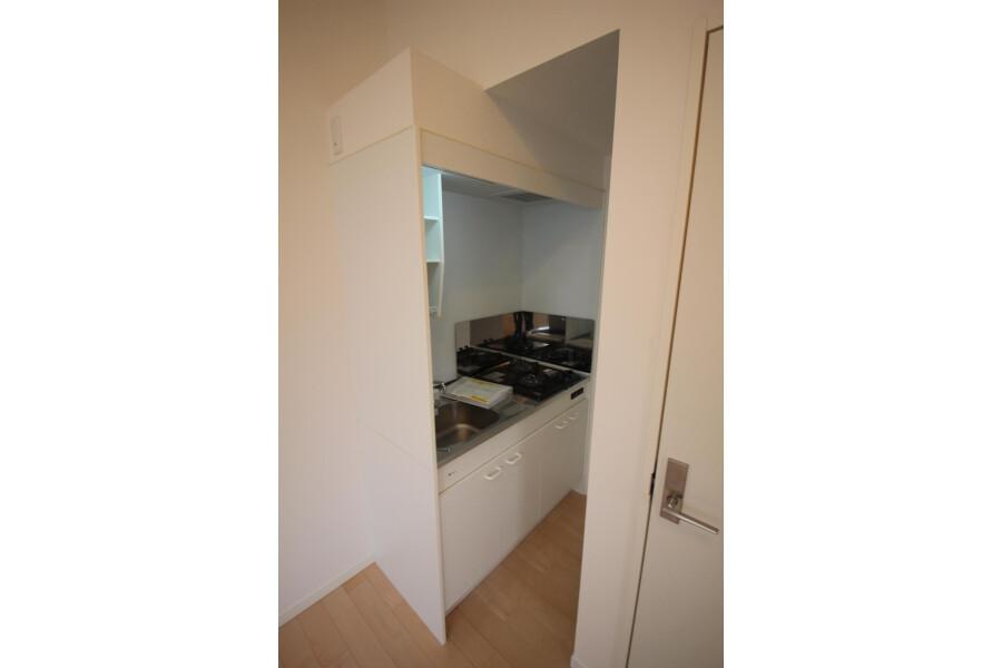 1R Apartment to Rent in Kawasaki-shi Tama-ku Kitchen