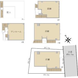 Whole Building {building type} in Miyasaka - Setagaya-ku Floorplan