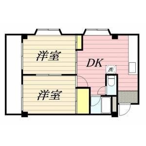 2K Mansion in Sakuradai - Nerima-ku Floorplan