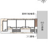 1K Apartment to Rent in Katsushika-ku Floorplan