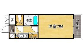 1K {building type} in Torikai - Fukuoka-shi Chuo-ku
