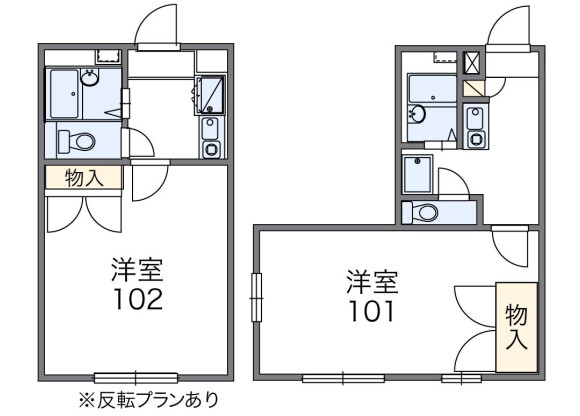 1K Apartment to Rent in Yokohama-shi Aoba-ku Floorplan