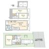 在世田谷区购买3LDK 独栋住宅的 楼层布局