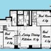 4SLDK Apartment to Buy in Setagaya-ku Floorplan