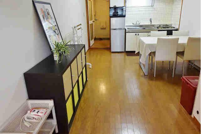 1LDK Apartment to Rent in Osaka-shi Chuo-ku Living Room