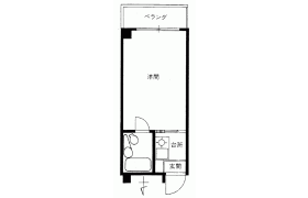 1R {building type} in Daikyocho - Shinjuku-ku