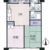 在澀谷區購買2DK 公寓大廈的房產 房間格局
