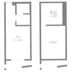 1R Apartment in Noshio - Kiyose-shi Floorplan