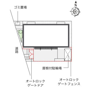 1K Mansion in Kiyokawa - Taito-ku Floorplan
