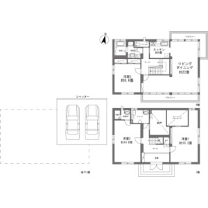 3LDK {building type} in Kabira - Ishigaki-shi Floorplan