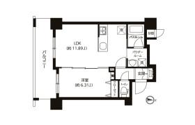 1LDK Mansion in Ryogoku - Sumida-ku