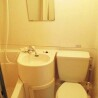 1R Apartment to Rent in Minato-ku Bathroom