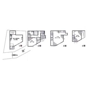 Whole Building {building type} in Minamiaoyama - Minato-ku Floorplan