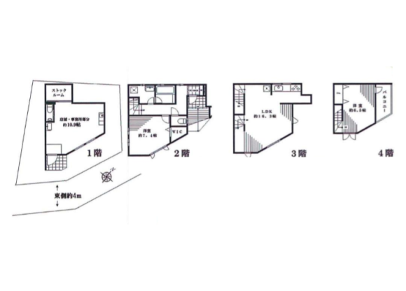Whole Building House to Buy in Minato-ku Floorplan