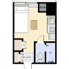 1R Apartment to Rent in Chuo-ku Floorplan