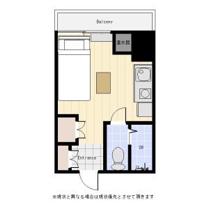 1R Mansion in Nihombashikodemmacho - Chuo-ku Floorplan