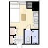 1R Apartment to Rent in Chuo-ku Floorplan