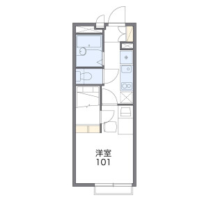 1K Apartment in Honamanuma - Suginami-ku Floorplan