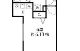 1R Apartment in Yamabukicho - Shinjuku-ku