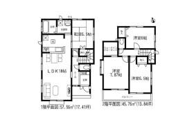 4LDK House in Sanrokumachi - Kitakyushu-shi Tobata-ku