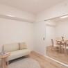 1SLK Apartment to Buy in Osaka-shi Nishinari-ku Living Room
