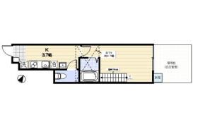 武蔵野市 境 1K アパート