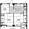 3DK Apartment to Rent in Matsudo-shi Floorplan