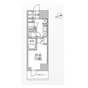 1K Mansion in Kojima - Taito-ku Floorplan