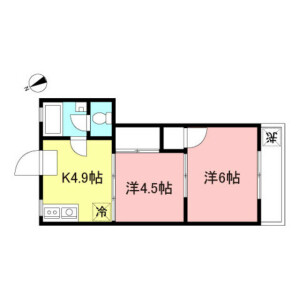 2K Mansion in Inokashira - Mitaka-shi Floorplan