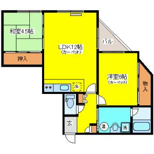 Whole Building {building type} in Kita10-johigashi - Sapporo-shi Higashi-ku Floorplan