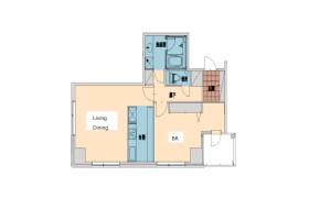 涩谷区猿楽町-1LDK公寓