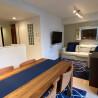 在新宿区内租赁1LDK 公寓大厦 的 起居室
