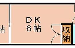 1DK Apartment in Sumiyoshi - Fukuoka-shi Hakata-ku