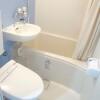 在新宿区购买1R 公寓大厦的 浴室