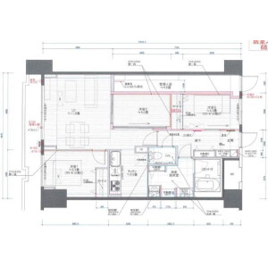3LDK Apartment in Takada - Toshima-ku Floorplan